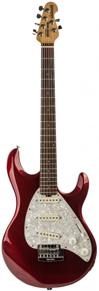 Music Man Silhouette Special Candy Red Ex Display Guitar